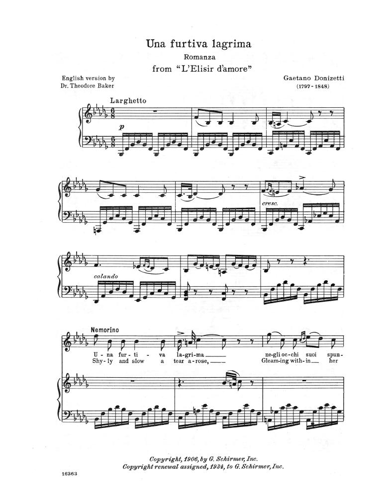 L'elisir d'amore (Donizetti, Gaetano) - IMSLP/Petrucci Music Library