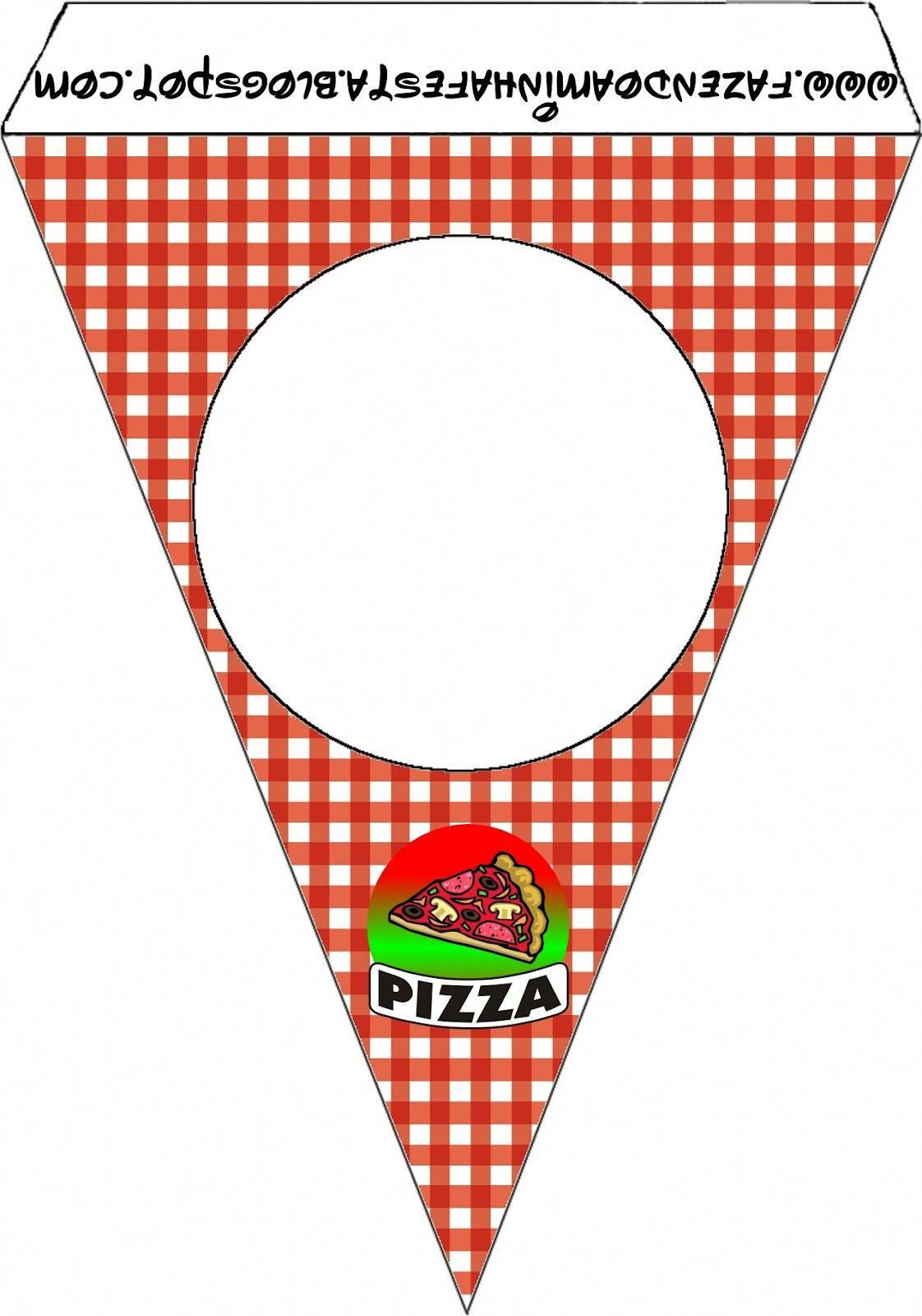Pizza Party Free Party Printables, Images and Papers