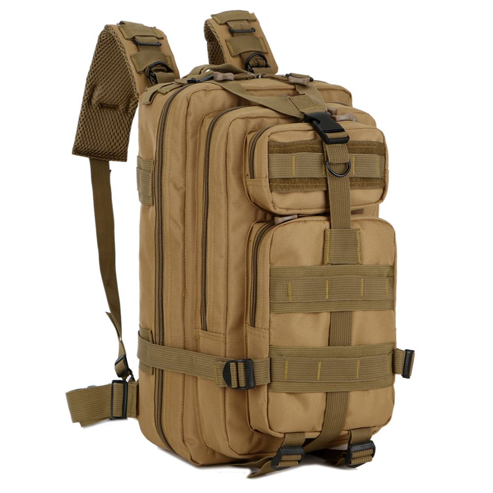 Military Tactical Molle Assault Backpack Rucksack Camping Hiking Daypack 30L