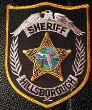 Vintage Hillsborough County Tampa Florida FL Rescue Patch Fire Dept