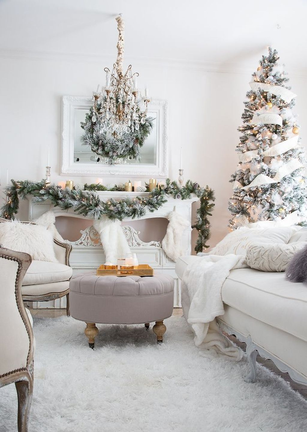 Ideas For Decorating Your Living Room Christmas Best Art Tree Tips Creating A Masterpiece In Gorgeous Livingroom Https