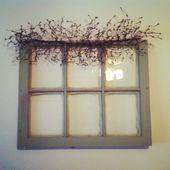 Topper idea for repurposed windows Topper idea for repurposed …