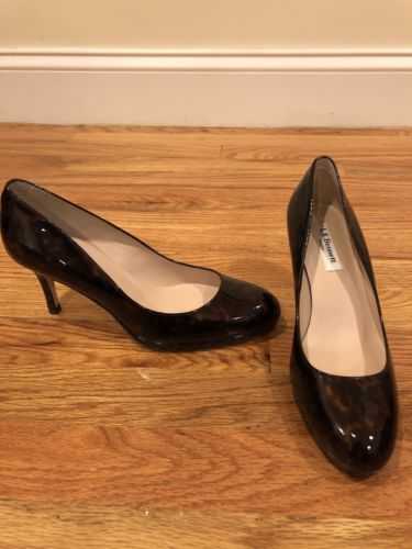 94308ccb5f NWT L.K. Bennett Patent Leather Sybila Heels Size 38   Designer ...