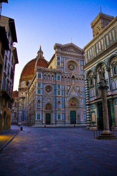 The Basilica di Santa Maria del Fiore is the main church of Florence, Italy