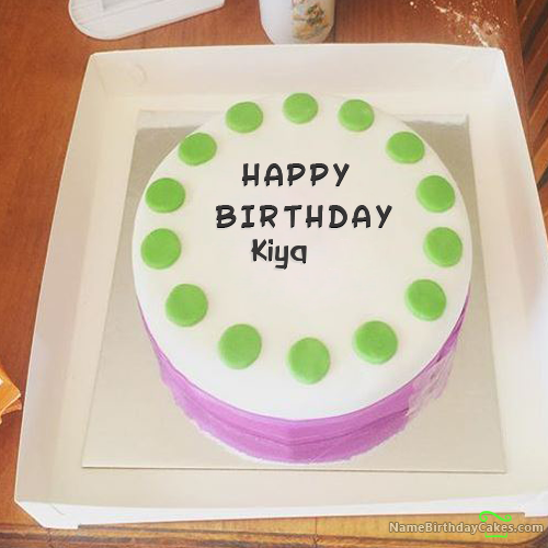 Happy Birthday Kiya - Video And Images