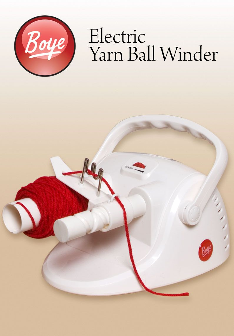Boye Electric Yarn Ball Winder : Knitting and Crochet Accessories by ...
