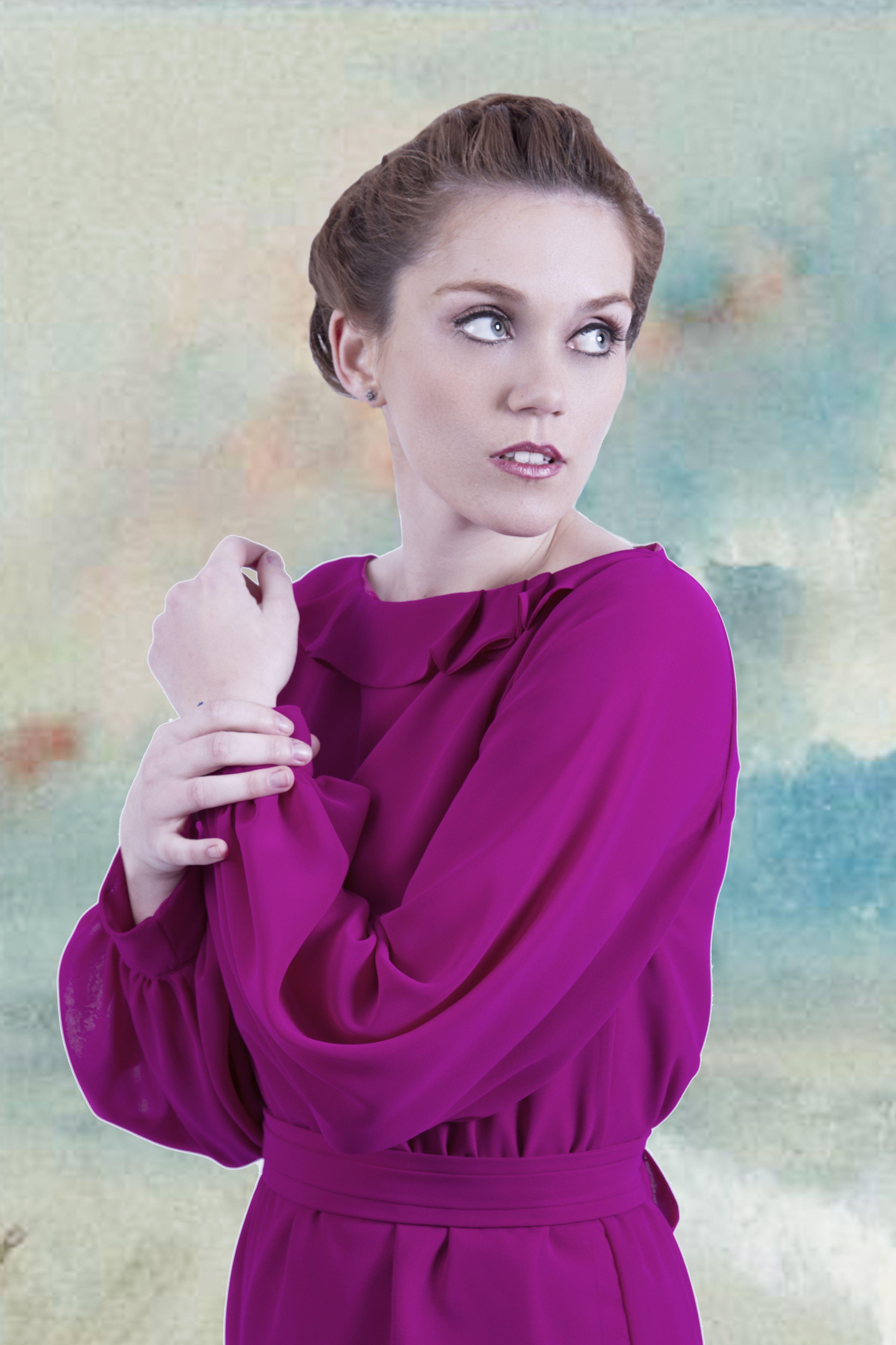 Vestido Giverny. Colección Invierno 2013/2014 de La Böcöque. http ...