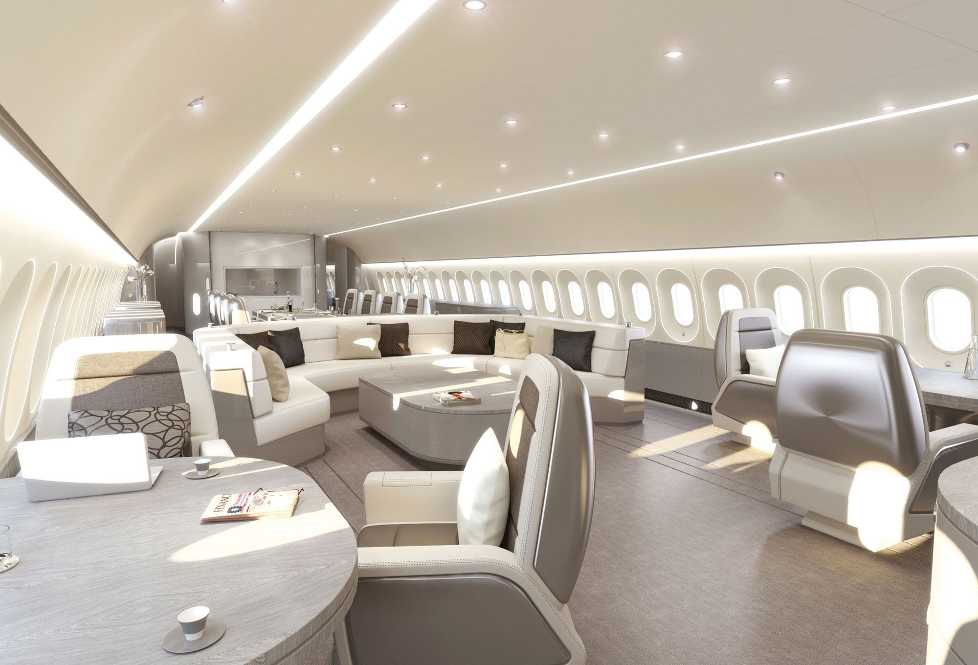 Luxury Vip Cabins Increasing In Popularity Business Aviation