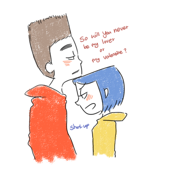 Norman And Coraline Kiss: Normaline Doodle By Lime-Hael.deviantart.com On