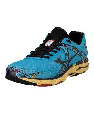 a2fe4cbff4ae6 This Mizuno Aquarius   Black Wave Inspire 10 Running Shoe by Mizuno is  perfect!  zulilyfinds