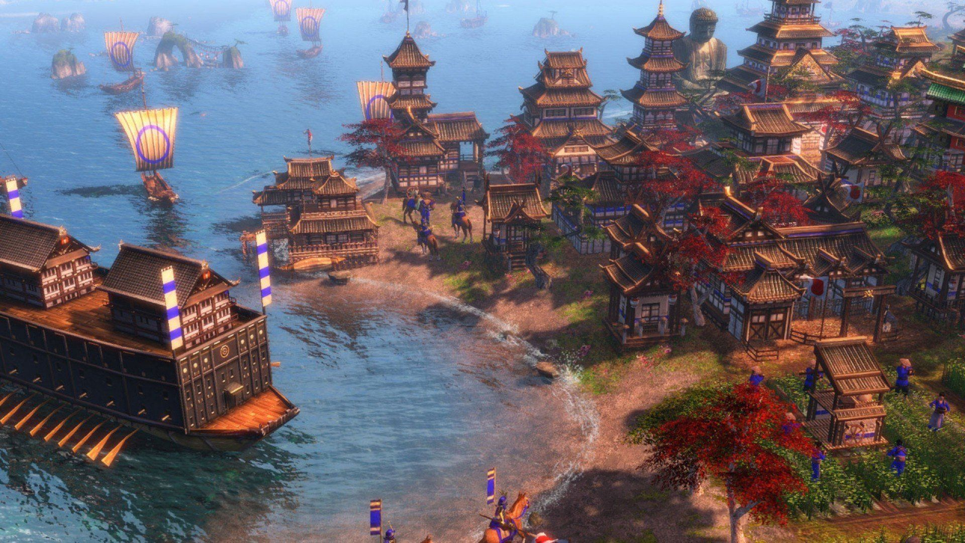 Asian Village Age Of Empires 3