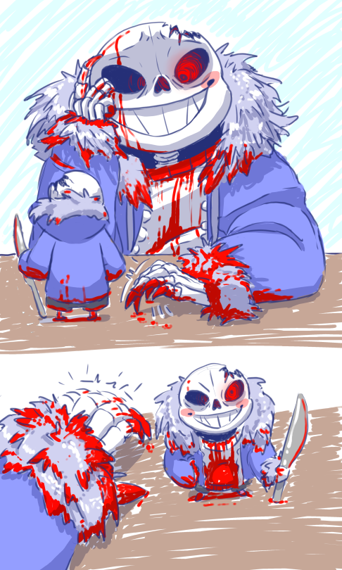 Bitty sans comic | Tumblr | Undertale | Horror sans, Horror