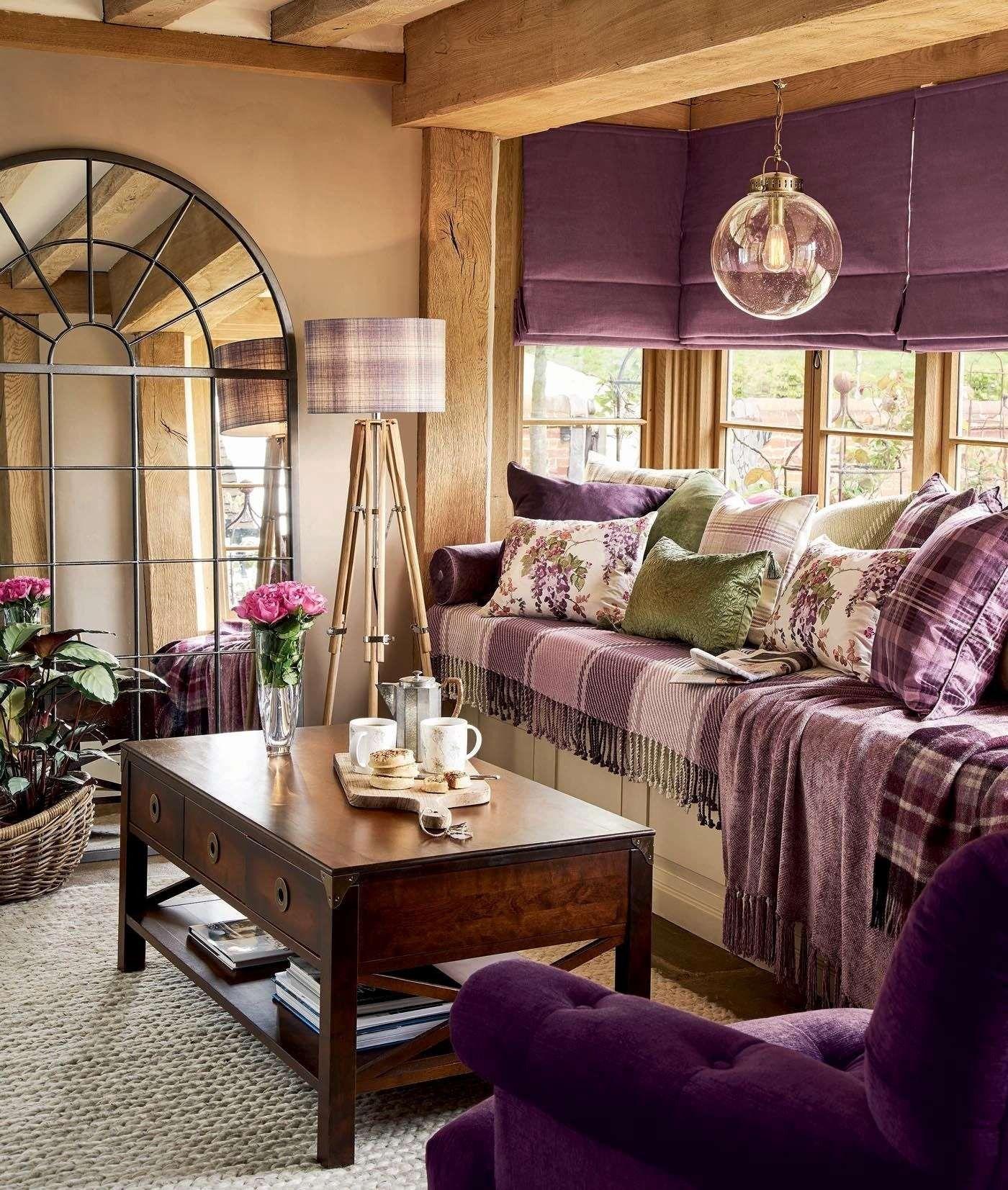 Fashionable Room Concepts June 2018 Purple Living Room Plum Living Rooms Living Room Accessories #purple #living #room #accessories