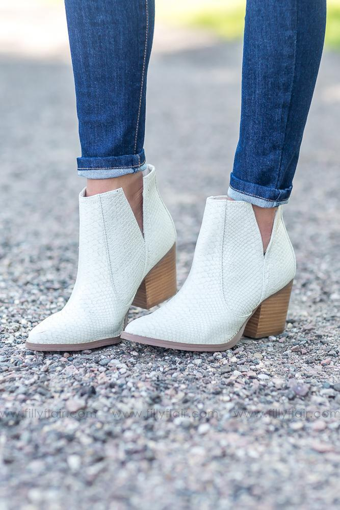 14f926b742 Cream Not Rated Tarim Booties - Filly Flair | Boots | Booty, Fashion ...