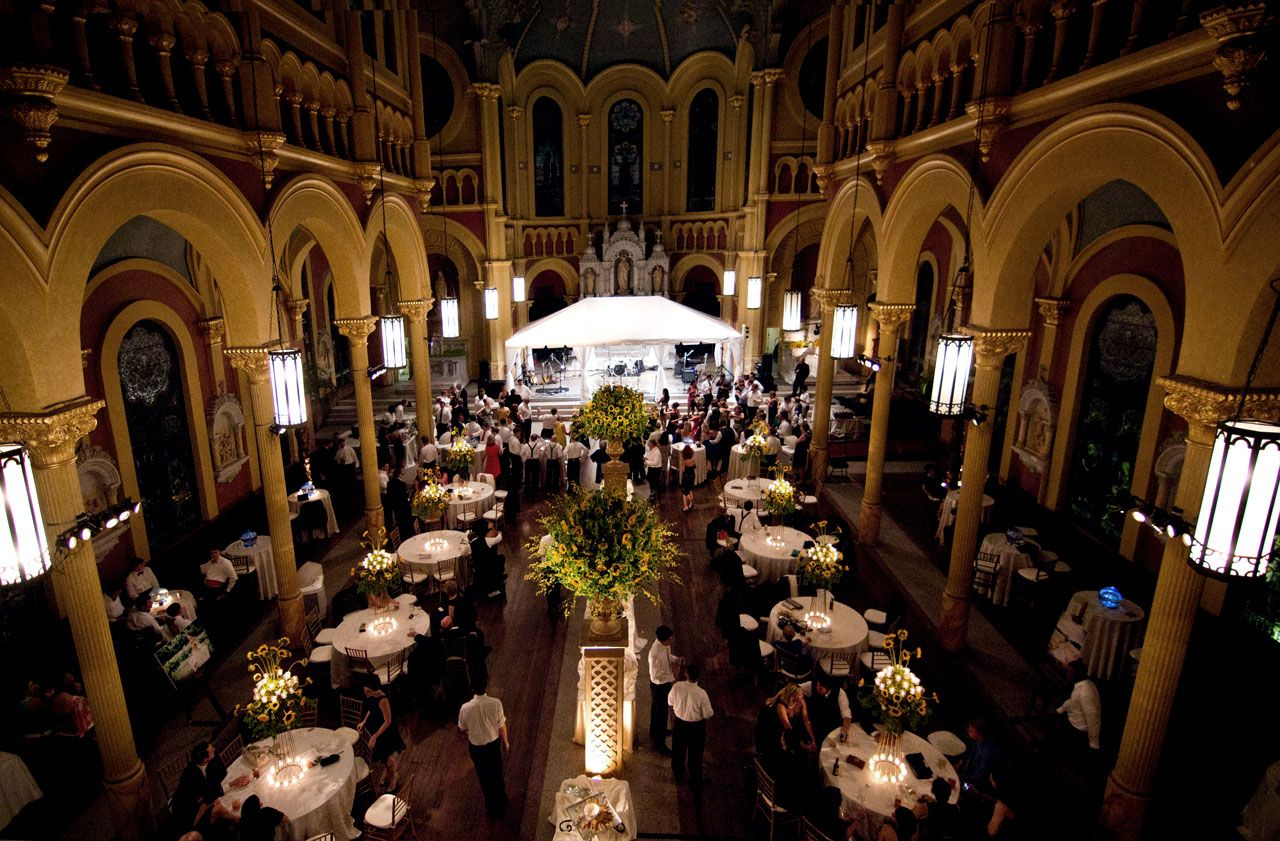 Check out this venue, Sacred Heart where David
