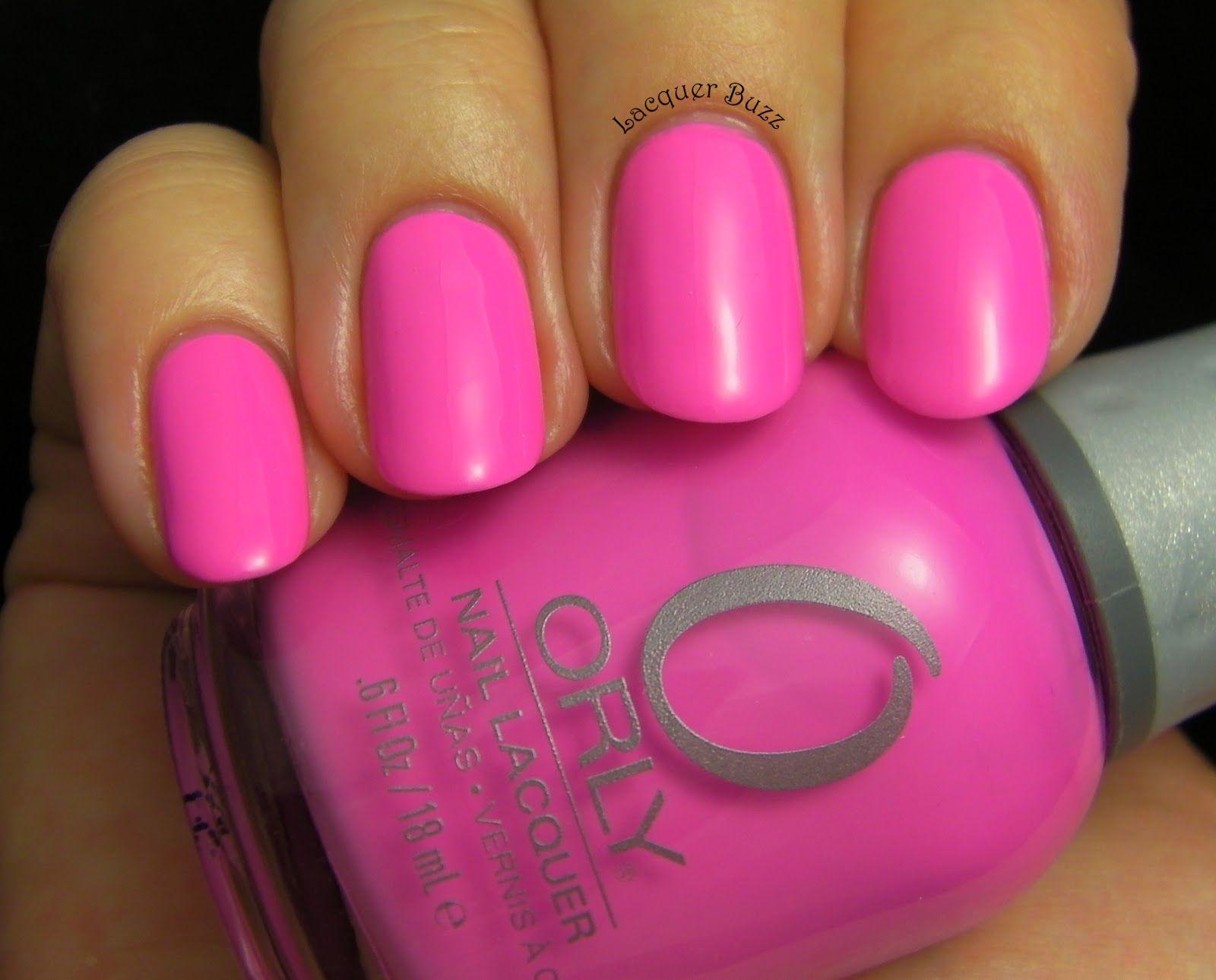 Orly Fancy Fuchsia | Nail Polish I own | Pinterest