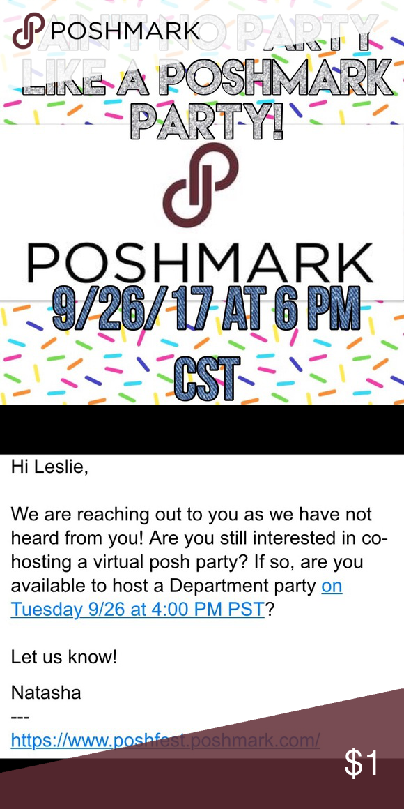 Co Hosting My First Poshmark Party