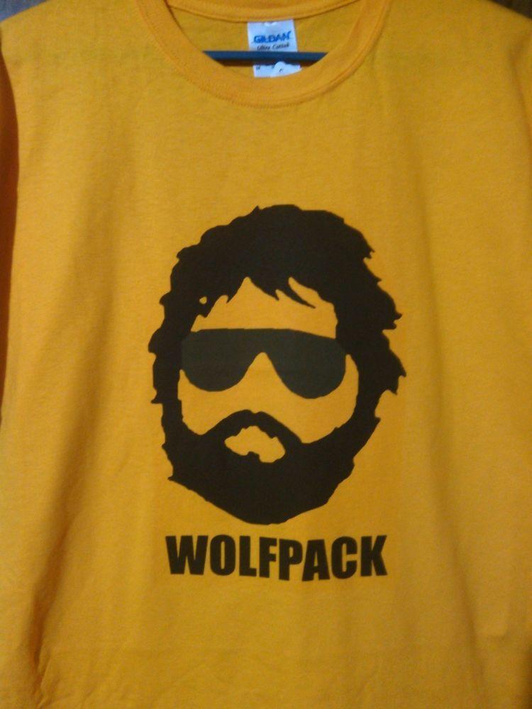 bcfc7e41 Wolf Pack T-shirt--Zach Galifianakis/The Hangover #ShortSleeve ...