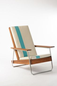 The Belmont outdoor leisure chair - modern - outdoor chairs - portland - Revolution Design House