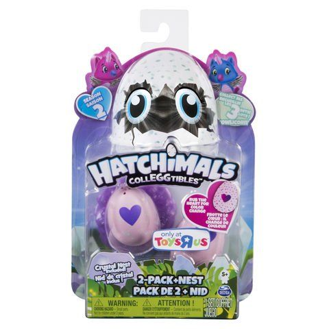 HATCHIMALS CollEGGtibles Season 2 2-Pack Nest Owlicorn