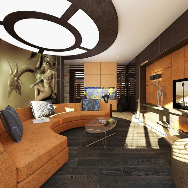 20 Male Living Space Ideas for Your Inspiration Living spaces