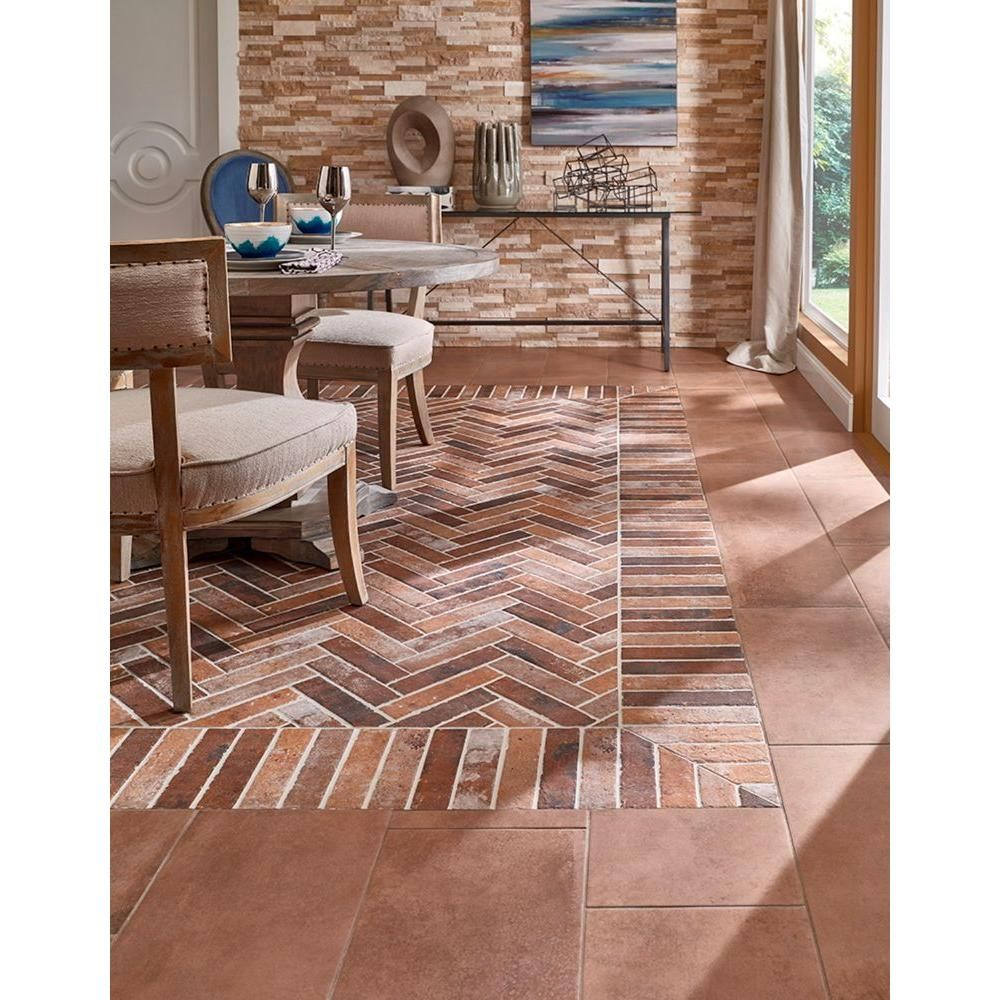 Msi rustico brick 2 13 in x 10 in glazed porcelain floor and wall msi rustico brick 2 13 in x 10 in glazed porcelain floor and wall tile 517 sq ft case nhdrusbri2x10 the home depot dailygadgetfo Images