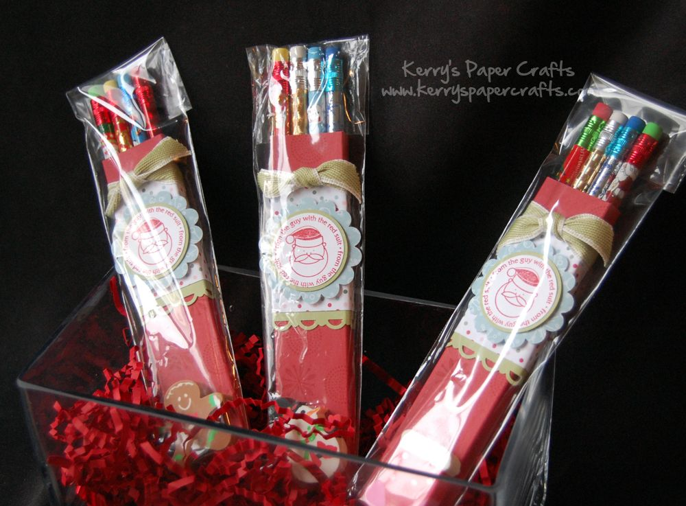 Beautiful Christmas Craft Fair Ideas To Make Part - 3: 4 Pencil Pack At Dollar Store With Matchin Eraser-put Them Into Skinny  Clear Bags · Pencil CraftsCraft Show IdeasHoliday ...