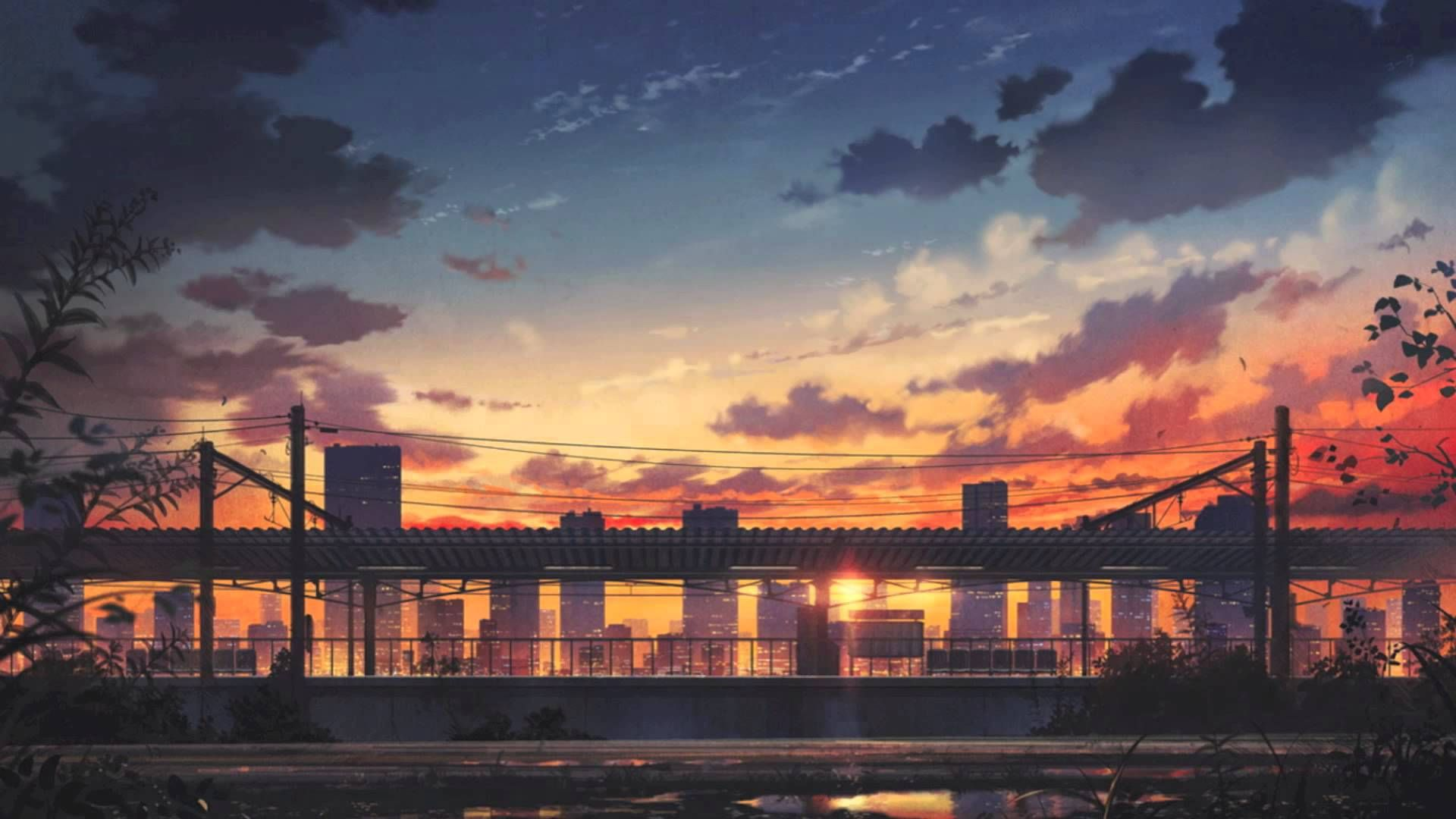 Explore More Wallpapers Anime Wallpaper Aesthetic Aesthetic Wallpaper Anime Aesthetic Background Anime wallpaper city sunset