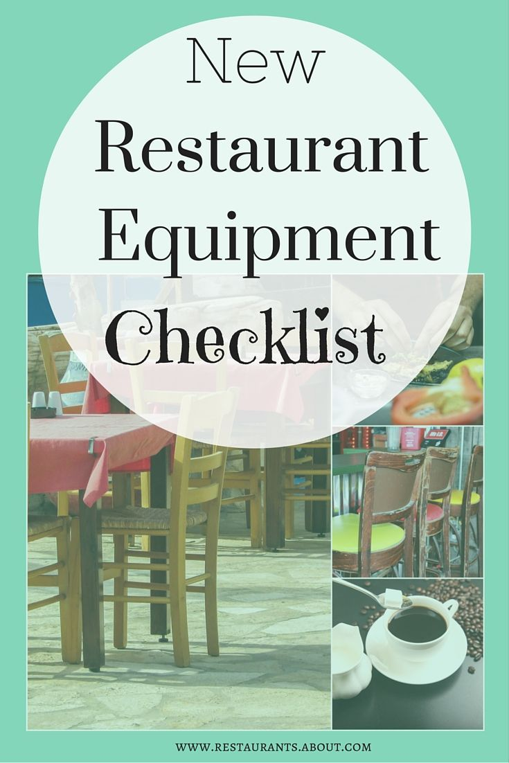 List Of Everything You Need To Open A New Restaurant Sports
