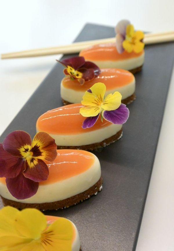 Les Fleurs Comestibles Food Cakes Sweets Pinterest Eatable