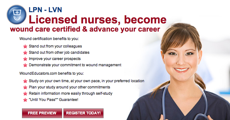 lpn - lvn wound care certification | courses worth taking ...