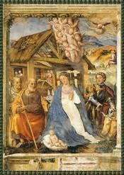 ... Affresco, 1527 ca. Valeriano (PN), Chiesa di Santa Maria dei Battuti