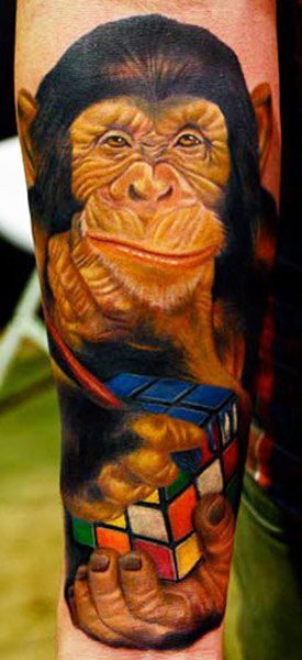Tattoo Artist - Carlos Rojas - animal tattoo   www.worldtattoogallery.com