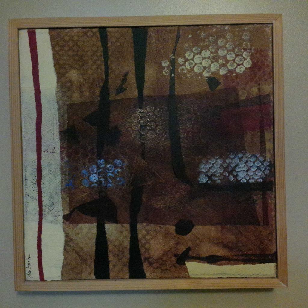 John Harrison 'Black Forest' bought on Wakefield Art Walk