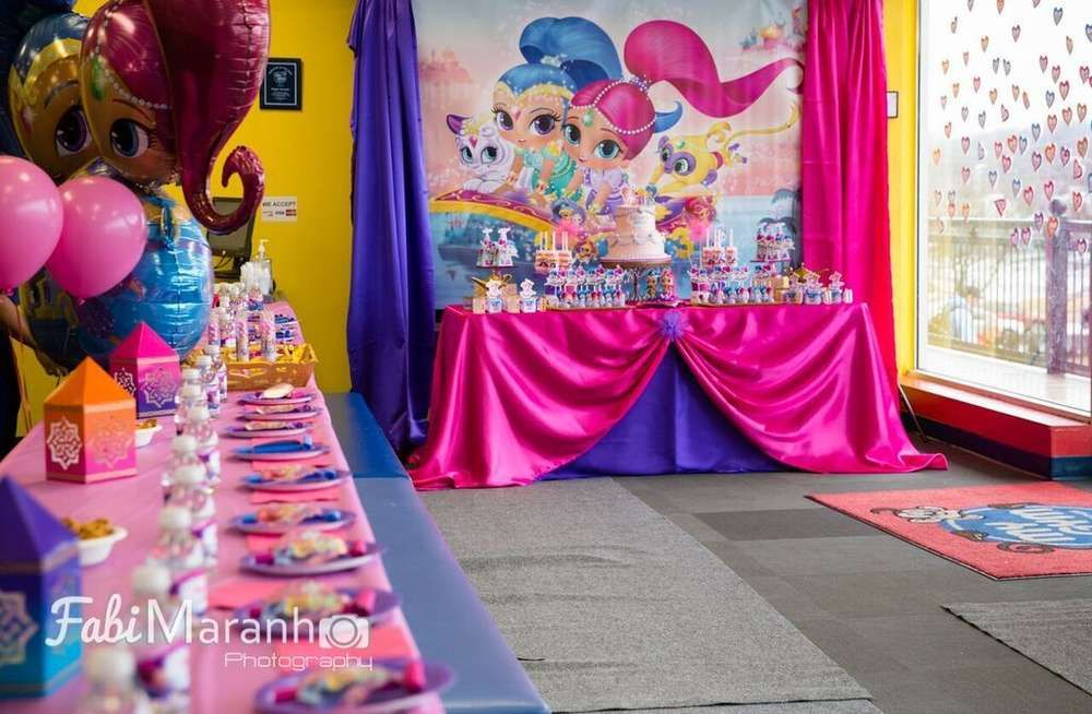 Shimmer And Shine Birthday Party Ideas In 2018 Birthday Party