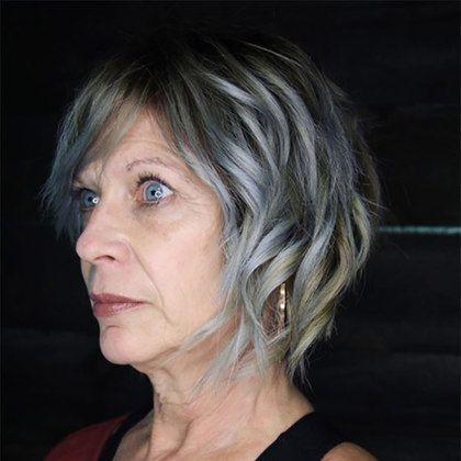 40 besten kurzen Frisuren für Frauen über 60 (mit Bildern ...