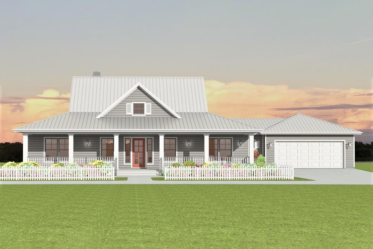 Plan 28917jj Country House Plan With Unfinished Basement In 2020 Country House Plan Cottage Style House Plans House Plans
