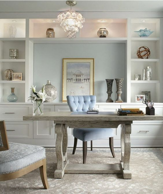 32 Simply Awesome Design Ideas for Practical Home Office home - Home Office Decor Ideas