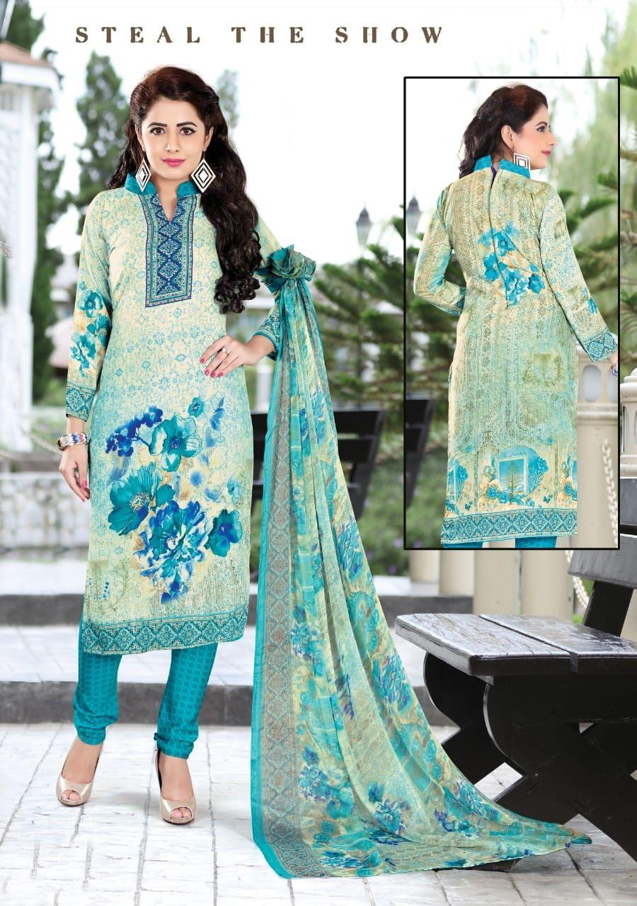 5b087479e6 Mehebooba Karachi Vol 1 Digital Printed Pure Loan Cotton Dress Material at  Wholesale Rate