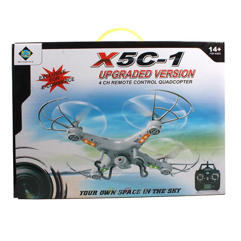 Product ID: 32280089314 RC Drone With HD Camera X5C-1 RC Helicopter ...