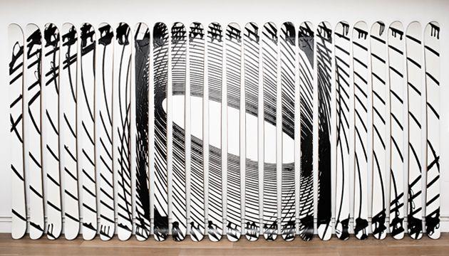 #Magazine - #Design : #Akonite x #XavierVeilhan, le ski artistique !