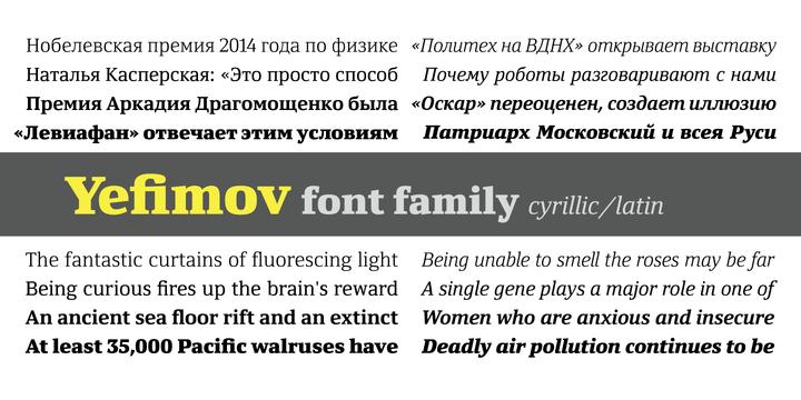 Font dňa – Yefimov Serif (zľava 70%, od 12,30€) - https://detepe.sk/font-dna-yefimov-serif-zlava-70-od-1230e/