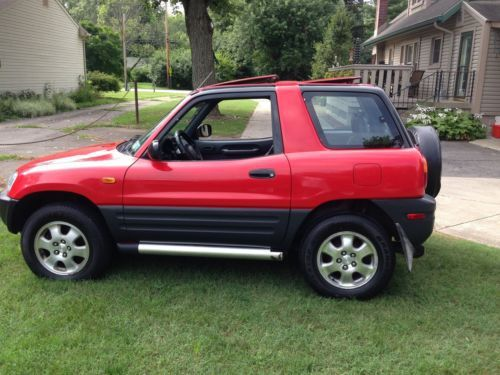 Sell Used 1997 Toyota Rav4 2 Door All Wheel Drive Dual Sun Roofs 90k Actual Miles Nr In Franklin Indiana United States Toyota Rav4 Rav4 Sun Roof