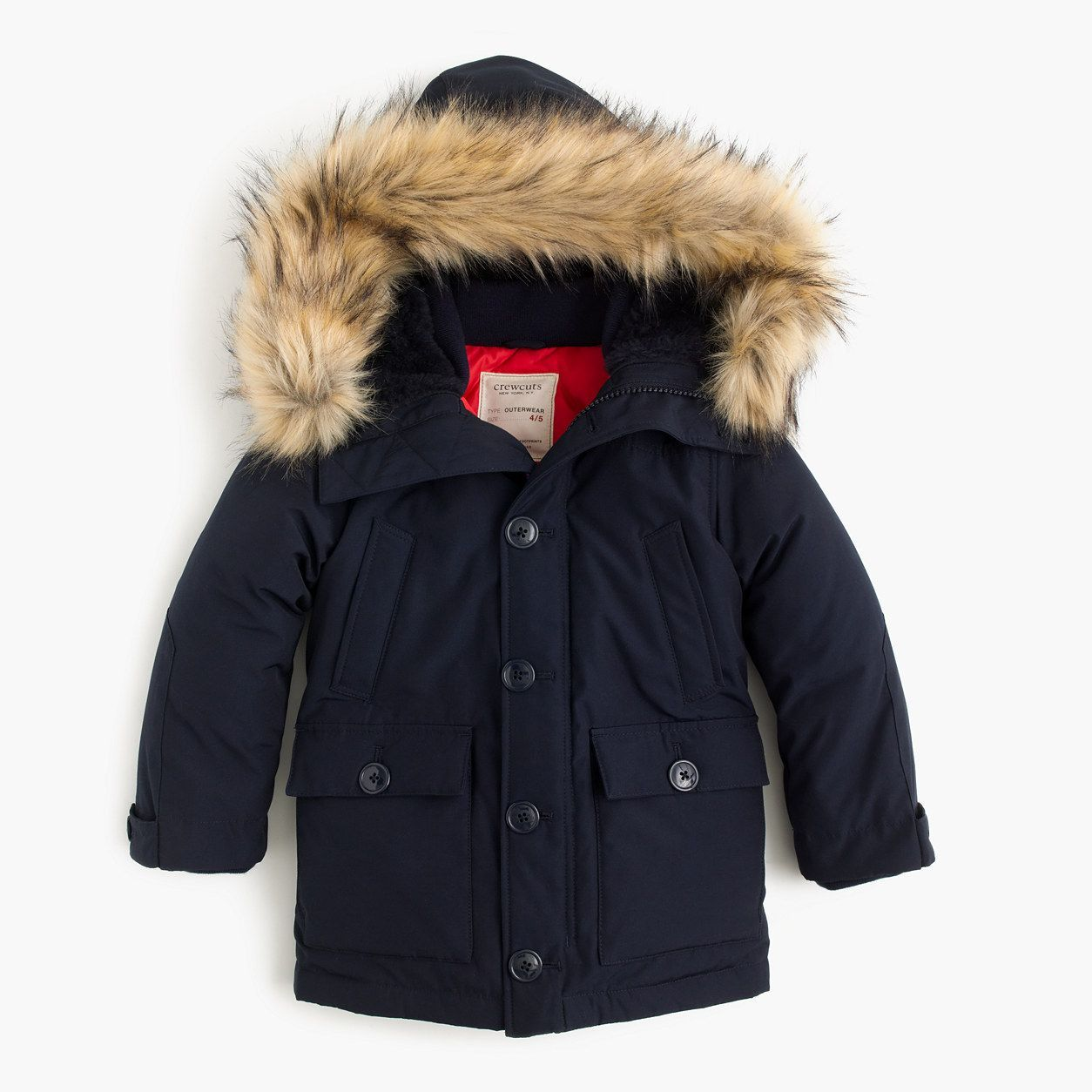 Crewcuts Boys Nordic Parka Size 6 7 Kid Boys Coat Boy Outerwear Boys Winter Coats [ 1254 x 1254 Pixel ]