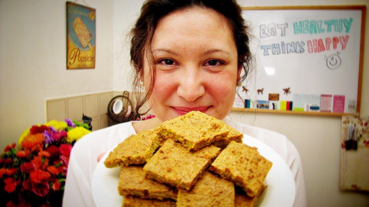 Baked Raw Vegan Bread Gluten Free No Dehydrator Option Vegetarian Vegan Recipes Raw Food Recipes Raw Vegan Recipes