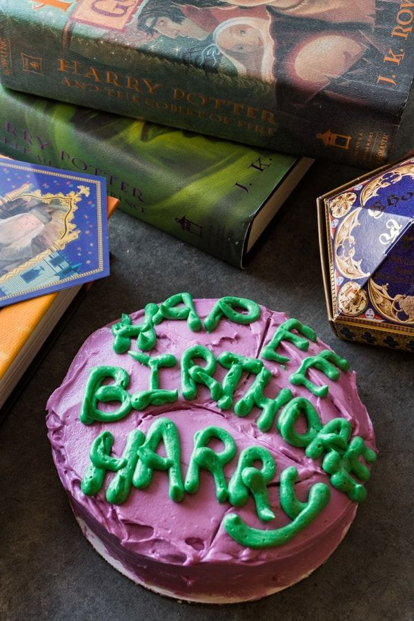 Admirable Harry Potter Cake Recipe Harry Potter Cake Harry Potter Food Funny Birthday Cards Online Alyptdamsfinfo