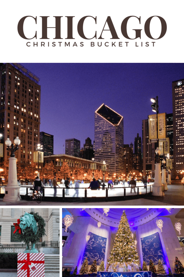 My Chicago Christmas Bucket List Oh My Omaha Chicago Christmas Christmas Bucket List Chicago Vacation