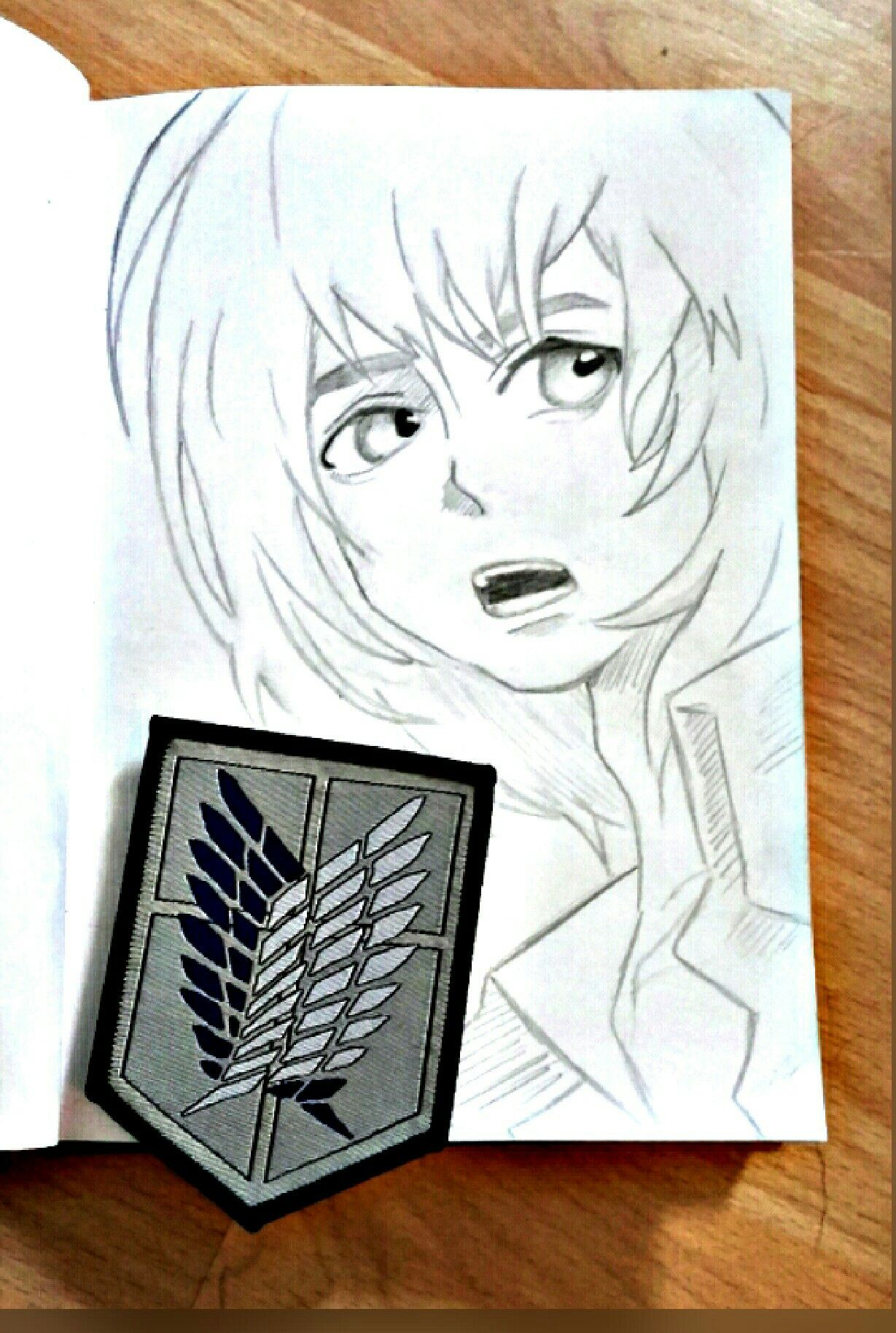 """I'll sooner die than become burden."" - Armin Arlert."