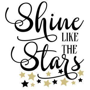 Silhouette Design Store: Shine Like The Stars