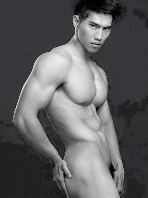 Masculine asian guys